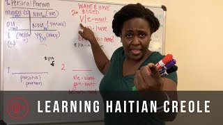 Learning Haitian Creole- Expressing Want, Need, and Have