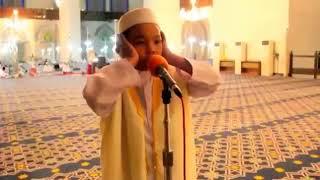 Amnan Adzan Cengkok Arab Sangat Merdu