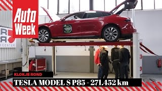 Tesla Model S P85 - 271.452 km - Klokje Rond - English Subtitles