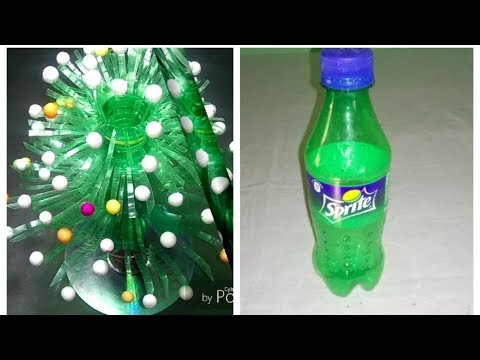 Make Beautiful flower || Empty plastic bottle vase making craft water bottle Recycle flowers