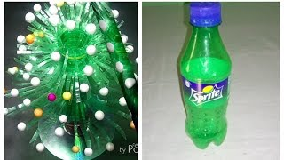 Make Beautiful flower    Empty plastic bottle vase making craft water bottle Recycle flowers
