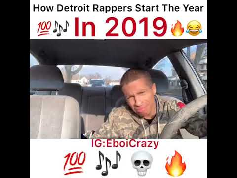 How Detroit Rappers Start Off The New Year