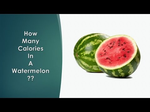Healthwise: Diet Calories, How Many Calories in Watermelon? Calories Intake and Healthy Weight Loss