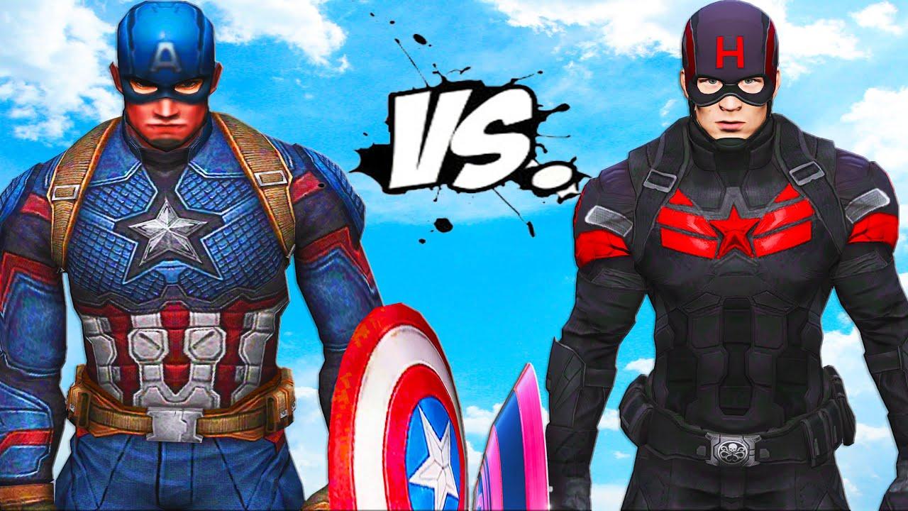 Download Captain America VS Captain Hydra - EPIC BATTLE