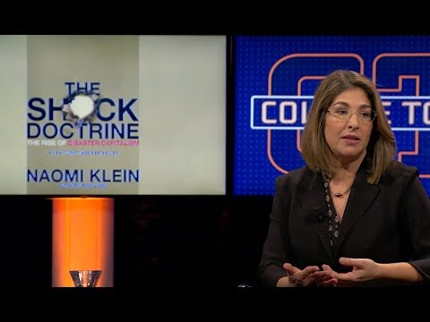 Does Trump consciously use the shock doctrine?  | Interview Naomi Klein | College Tour