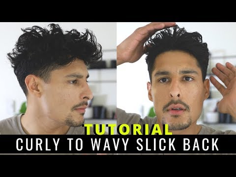 how-i-slicked-back-my-thick-curly-wavy-hair-|-step-by-step-hair-tutorial
