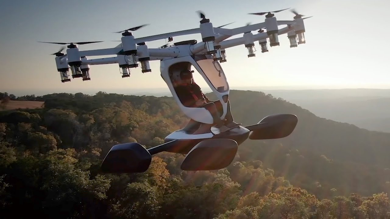 Top 5 Amazing Flying cars and Air Taxis ▶ 2