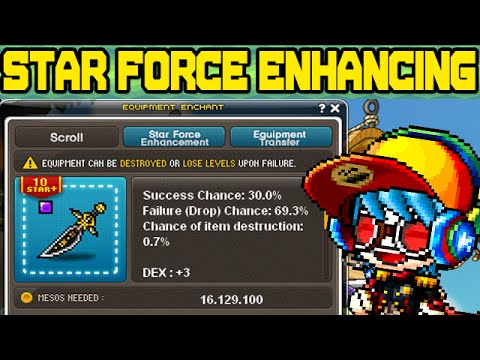 how to increase star force maplestory