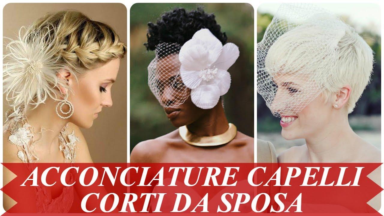 Tendenze Acconciature Per Matrimonio Capelli Corti