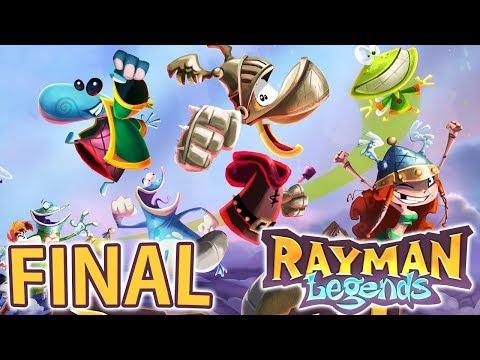Rayman Legends - FINAL ÉPICO!!!! [ Nintendo Switch - Playthrough ]
