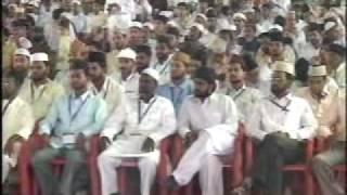 Ahmadiyya Moulvi Kaleem Khan Sb Bangalore Speech at Jalsa Salaana Qadian 2009 - Part 1