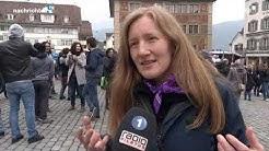13. April 2019 - Tele 1: Antirassismus-Demo in Schwyz