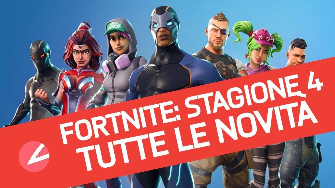 Fortnite Stagione 4 Tutte Le Novita Del Battle Royale Di Epic In Un