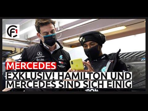Exklusiv: Hamilton und Mercedes sind sich einig! 😮