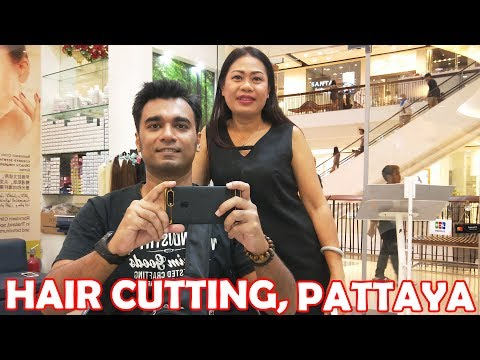 PATTAYA VERY GOOD BARBERSHOP 👍, HAIR CUT SALON, HAIR CUTTING AT GM CONNECTION, CENTRAL FESTIVAL