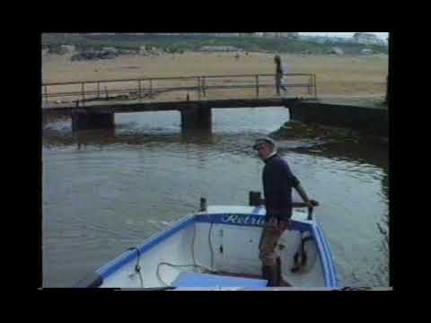 "Mike ""Sheriff"" Scown, Bude Harbour 1989"