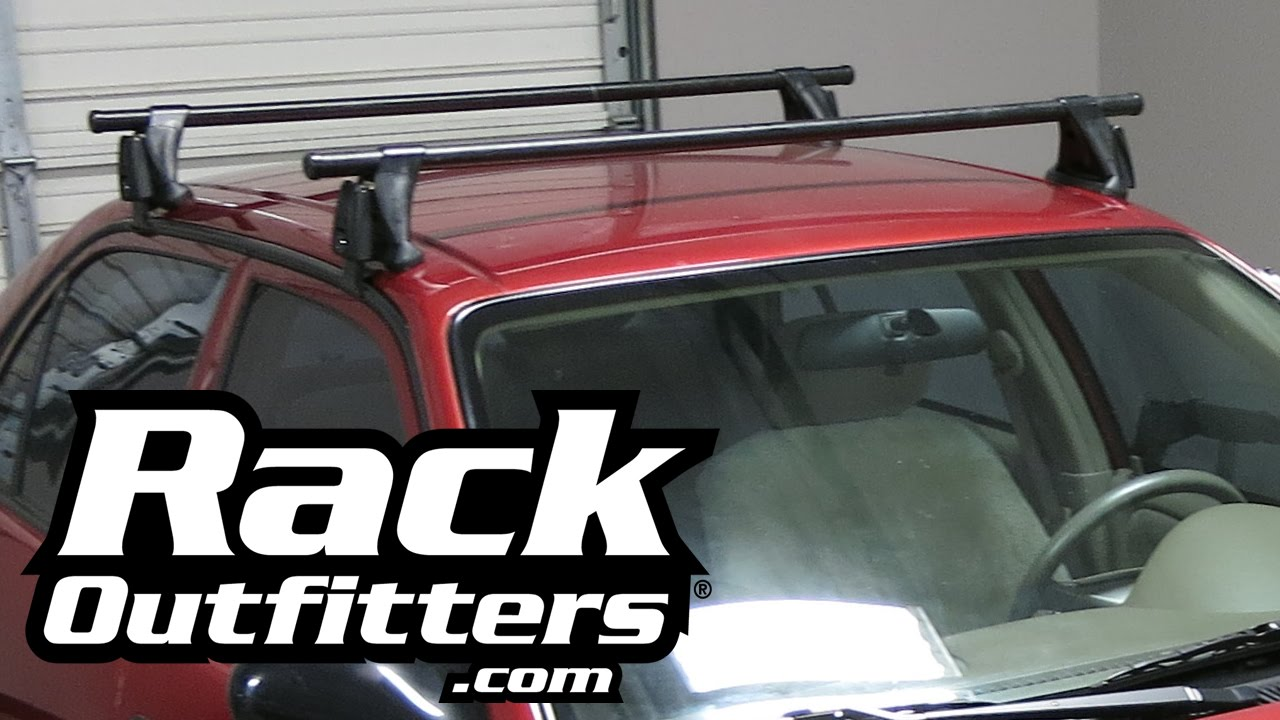 Dodge Dealer Yakima >> Toyota Corolla Yakima Q Tower Round Bar Roof Rack '03-'08 by Rack Outfitters - YouTube