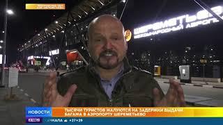 Багажный коллапс и сокращения грузчиков: километровые очереди образовались в аэропорту Шереметьево