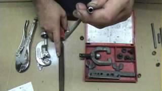 brake line flaring video #1