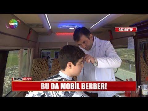 Bu da mobil berber!