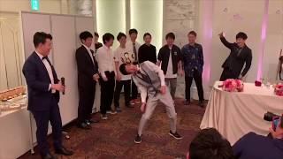 Freestyle  Football Wedding Performance/【結婚式余興】新郎と友人によるリフティングパフォーマンス【フリースタイルフットボール】
