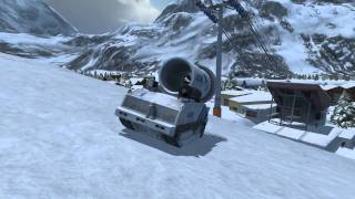 Ski Region Simulator 2012 - Gameplay