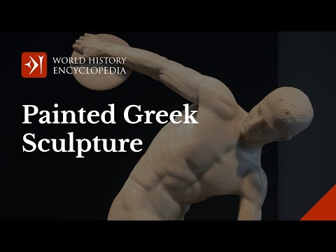 Painted Greek Sculpture
