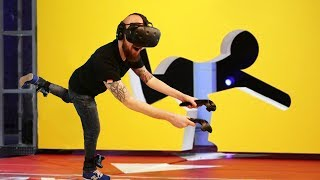 The Craziest Virtual Reality Game Yet!