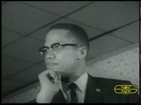 "Malcolm X Speech ""Democracy is Hypocrisy"""