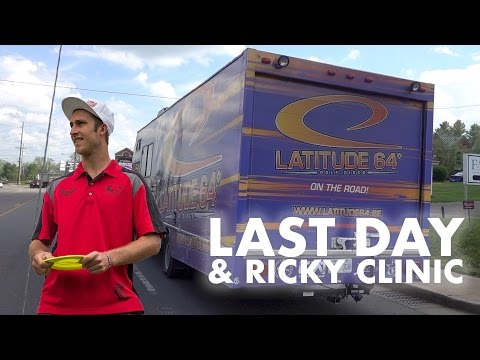 Last Day at Bowling Green and Ricky Disc Golf Putting Clinic