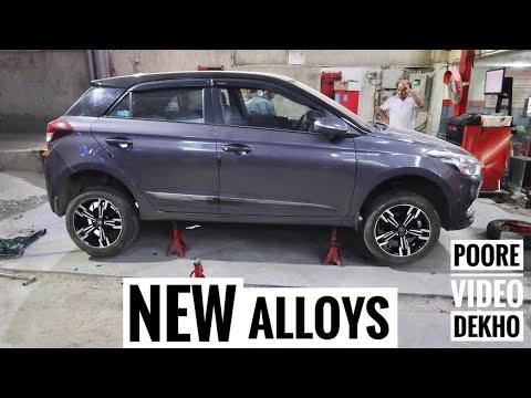 Almost Got Alloy Wheels On My Hyundai Elite i20 ???