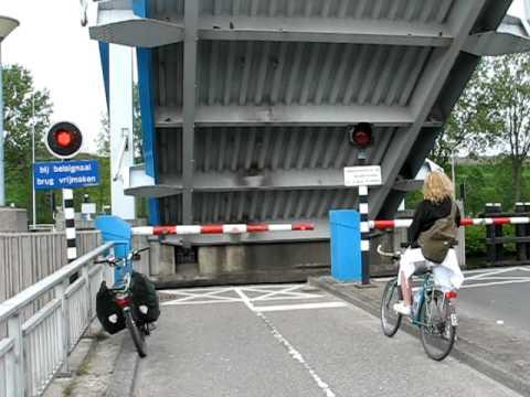 Dutch Canal Bridge near Groningen
