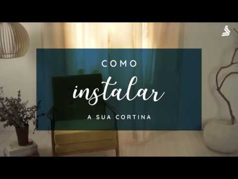 Aprenda a instalar a sua cortina.