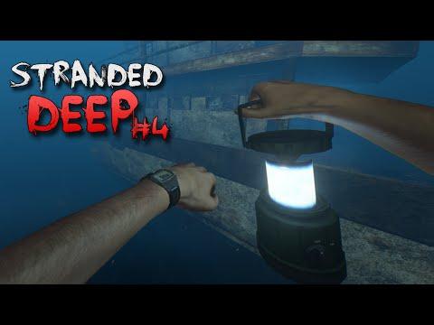 UNDERWATER EXPLORING w/ AIR TANK! | Stranded Deep #4