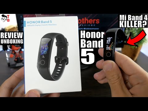 Honor Band 5 Global Version REVIEW & Unboxing & Setup