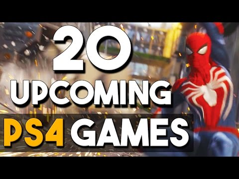 20 BIG Upcoming PS4 Games in 2017 and Beyond