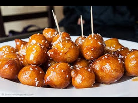 Ramadan series how to make luqiamat sweet arabic for Arabic cuisine names