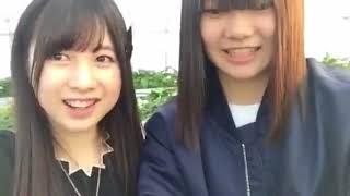 20170304 いちご狩り配信 永野芹佳 中野郁海.