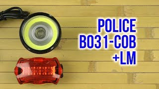 Распаковка Police B031-COB+LM
