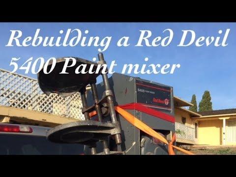 Red Devil 5400 Paint Mixer