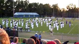 Lee County High School Marching Band 2012 @ Bluestone