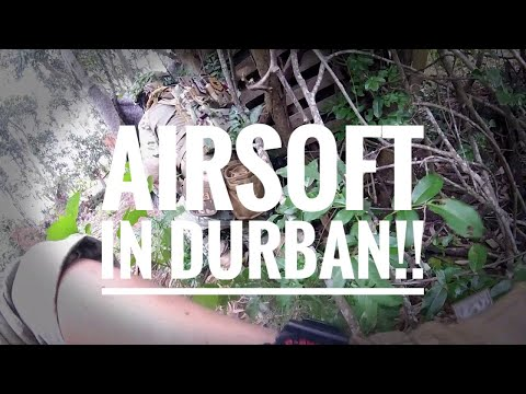 {Airsoft Anonymous}  Durban Game 1 With the 1 Legion SA Crew