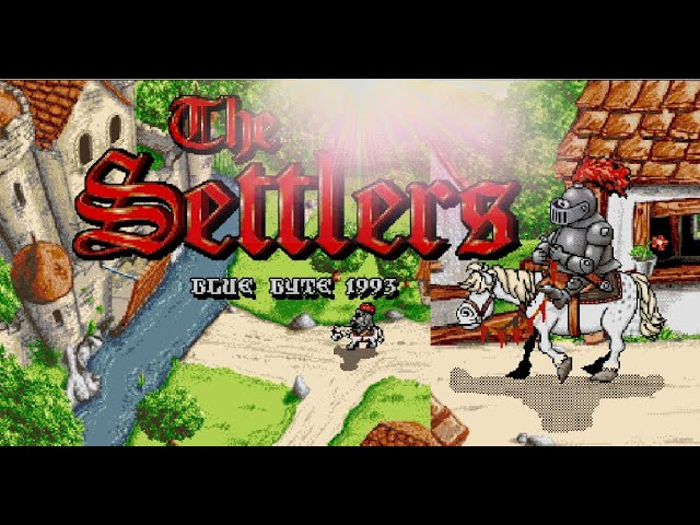 The Settlers  Intro  [ Amiga 50FPS HD ]