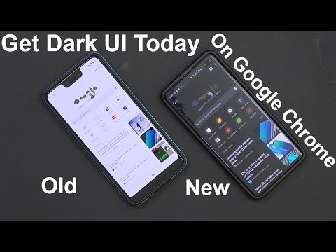 How To Enable/Turn On Dark/Night Mode In Google Chrome Android Today (No Root Mod Tutorial)