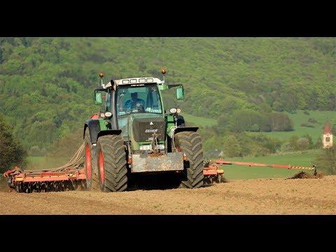 AGRO Chomutice - setí jarní pšenice 2018