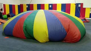 Make A Circle | Tent Game For Kids | Parachute Activity Birthday Party  | Parachutegames
