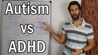 Autism vs ADHD  (The Difference between ADHD and Autism Spectrum Disorder)