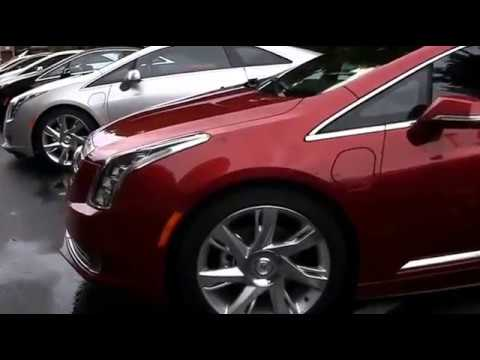 2014 Cadillac ELR color &  trim interior design ev coupe car review automotive design electric coupe