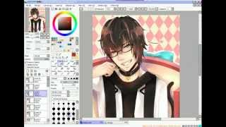 [Speed paint] LinePlay Character