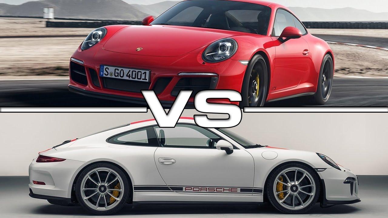 2018 Porsche 911 Gts Vs 2017 R